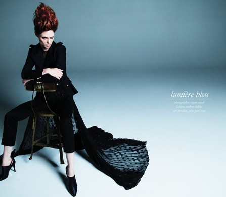 Model / Coco Rocha @ Wilhelmina Photographer / Rayan Ayash Fashion / Andrew Holden Art Direction / John Paul Tran