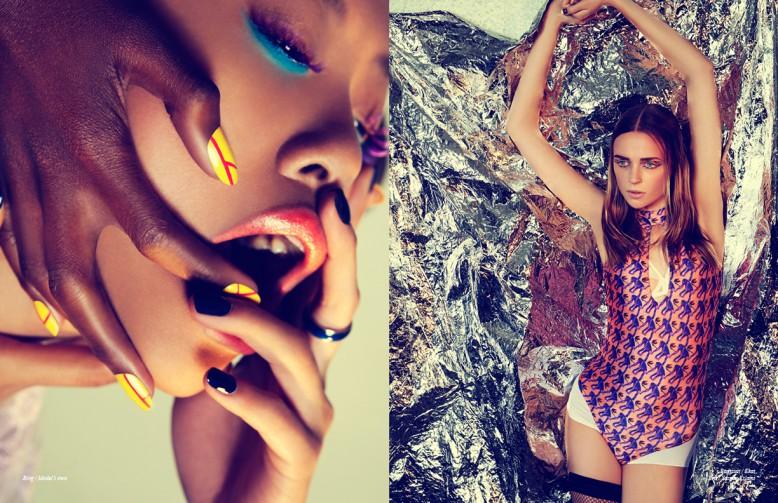 Ring / Model's own  Opposite Bodysuit / Ekat Bra / Yasmin Eslami