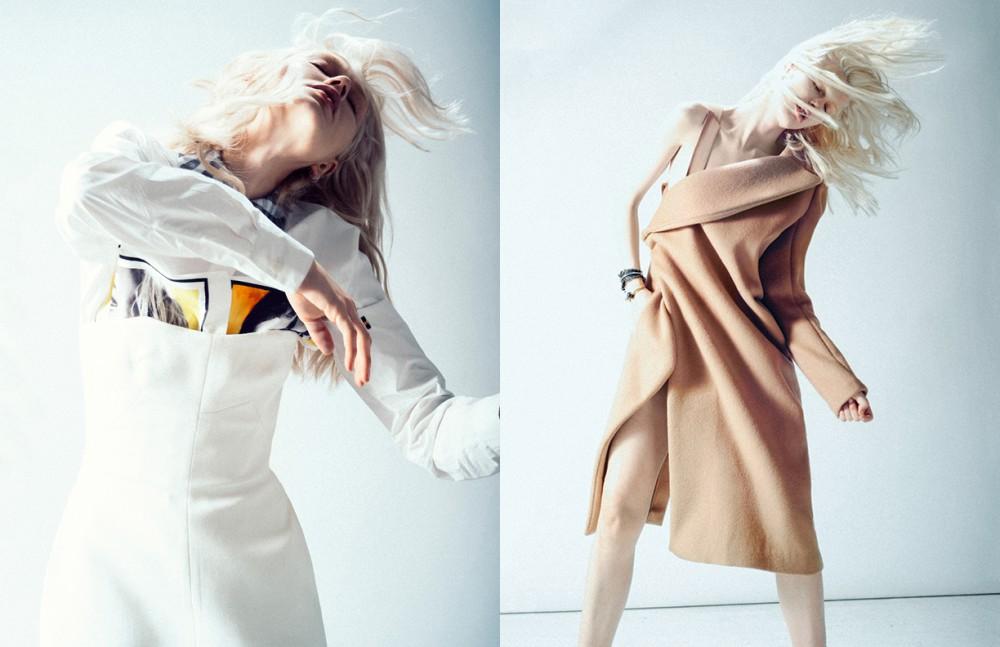 Skirt / Acne Studios Dress / Ellery Ring / Amber Sceats Opposite Jacket dress / Christopher Esber Bracelet / Coach