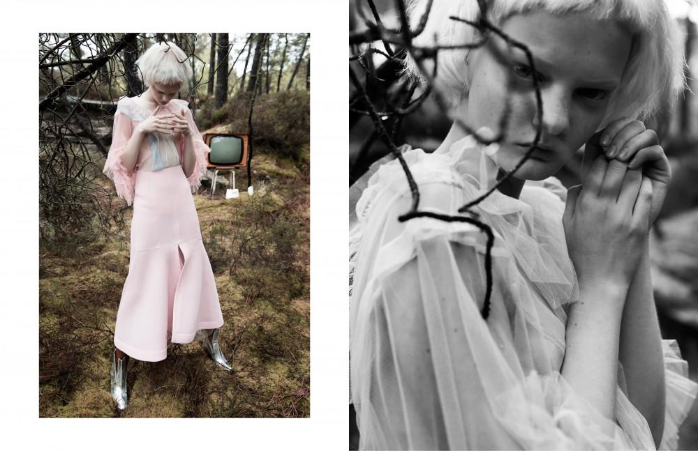Dress / Supersweet Skirt / Kenzo Socks / Badelaine Shoes / Paco Rabanne Opposite Dress / Supersweet