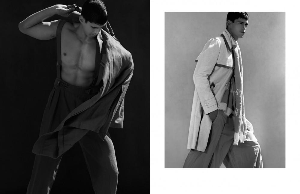 Coat / Berluti Trousers / Siki Im Trousers / Ermenegildo Zegna Couture Opposite Coat / Prada Coat / Berluti Trousers / Siki Im Trousers / Ermenegildo Zegna Couture Scarf / Burberry Prorsum