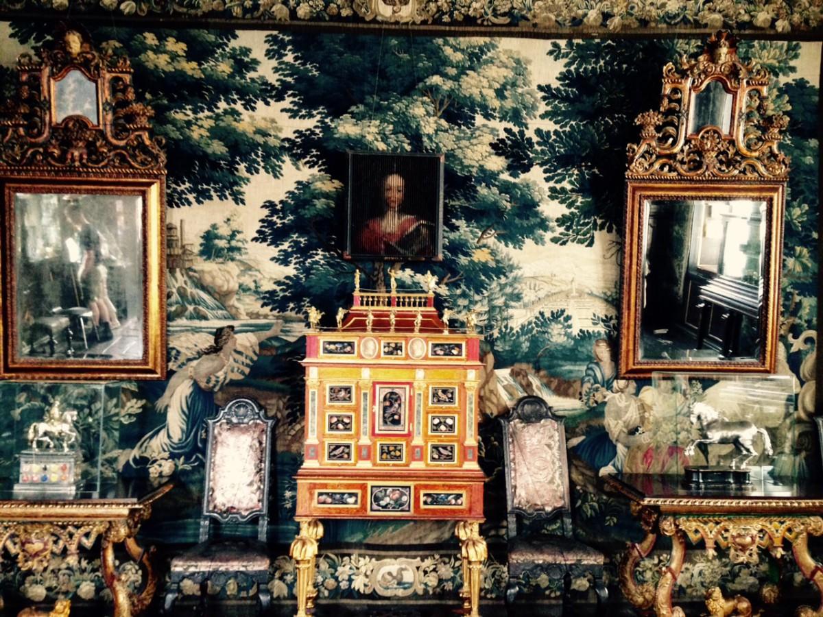 Inside Rosenborg Castle