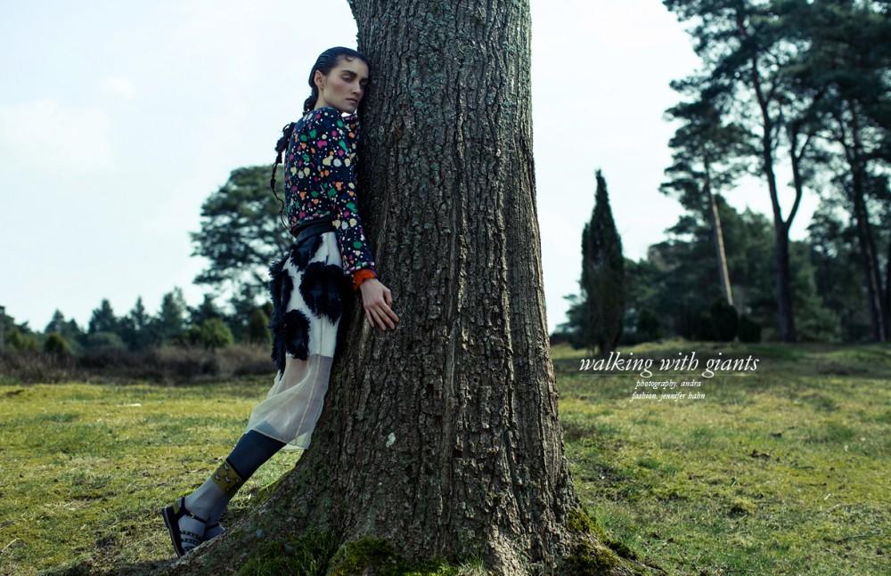 Dress / Sportmax Jacket & Shoes / CHANEL Socks / Prada