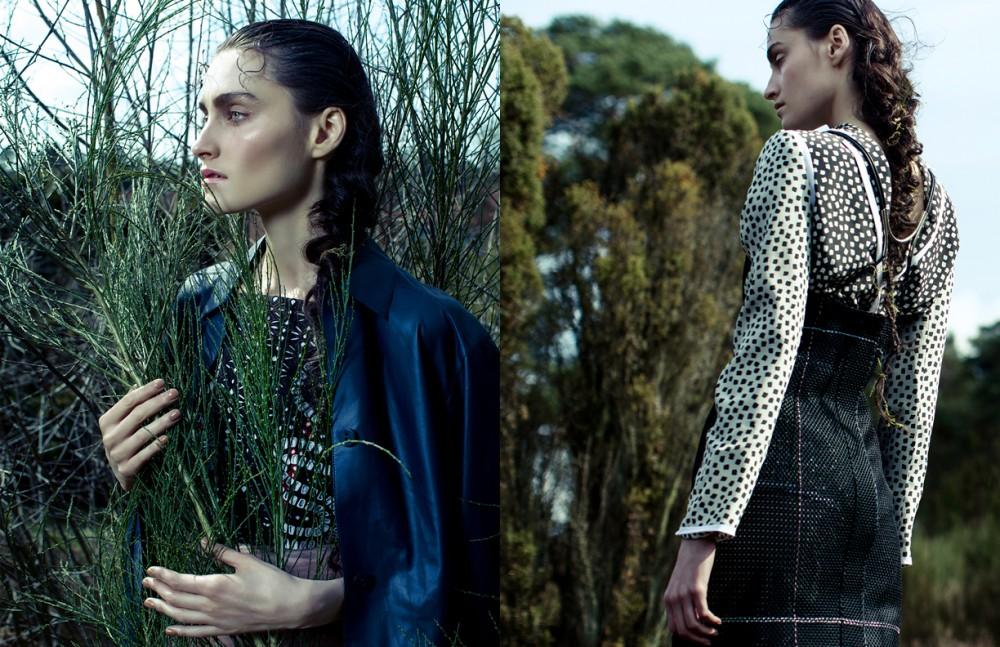 Jacket / Hermes Dress / Tory Burch  Skirt / Burberry Prorsum