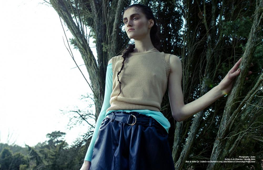 Jumper & Trousers / Jil Sander  Shirt / Versace