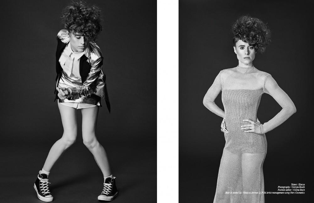 Blazer, skirt & top / Sveta Socks / Falke Trainers / Converse Opposite Dress & bodysuit / Zeynep Kartal