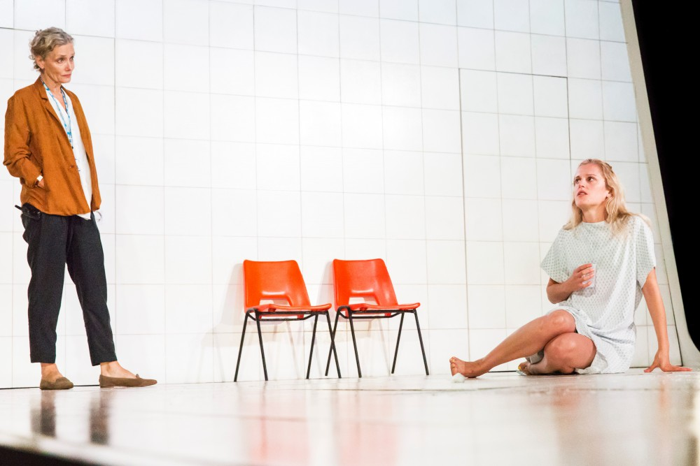 PEOPLE PLACES AND THINGS by Duncan Macmillan,            Writer - Duncan Macmillan, Director - Jeremy Herrin, Set Designer - Bunny Christie, The National Theatre, London, UK, 2015, Credit: Johan Persson