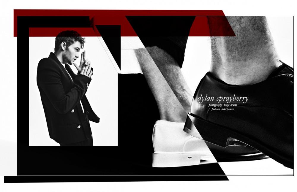Shirt / Topman Jacket / Balmain Trousers / Stamp'd Shoes / Alberto Guardiani