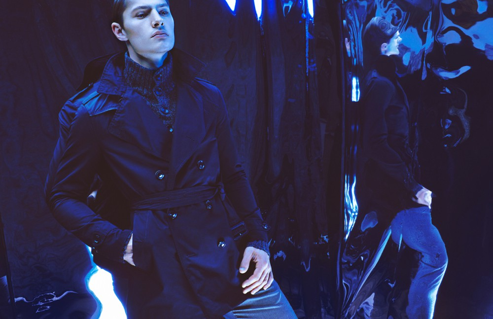 Coat / Vivienne Westwood Roll neck / Ralph Lauren Trousers/ Calvin Klein Collection