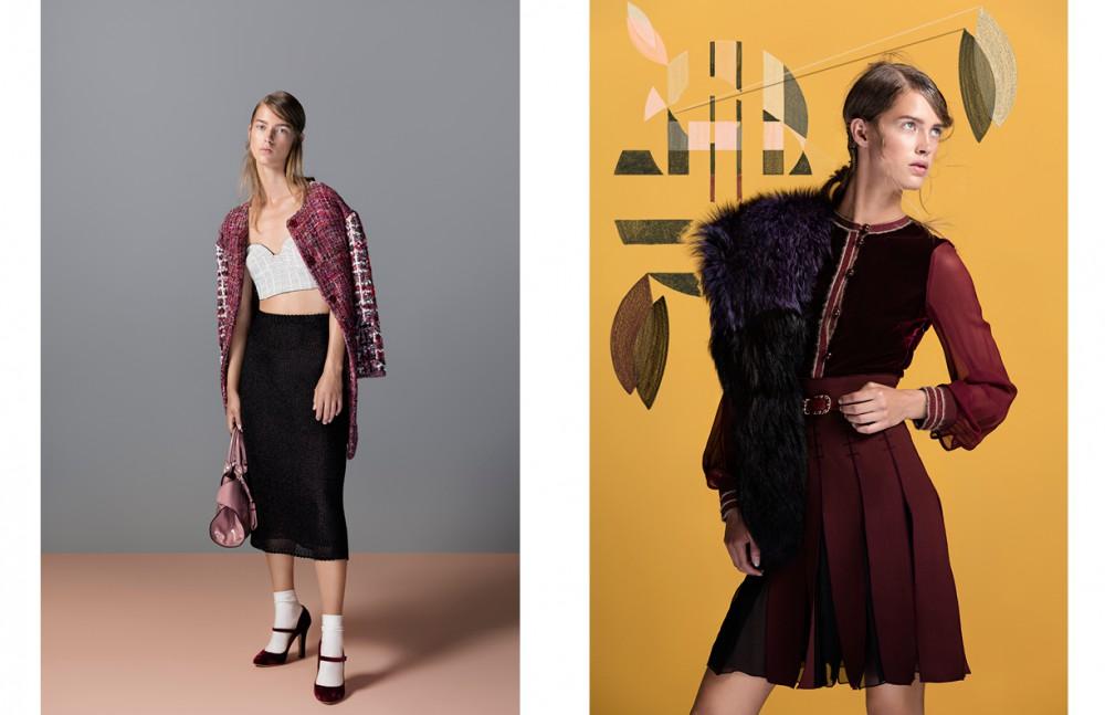 Coat / Escada Skirt / Dior Top / David Laport couture Shoes / Dolce & Gabbana Socks / Falke Bag / Tods Opposite Dress / Tommy Hilfiger collection Stole / Django Steenbaker couture Belt / CHANEL