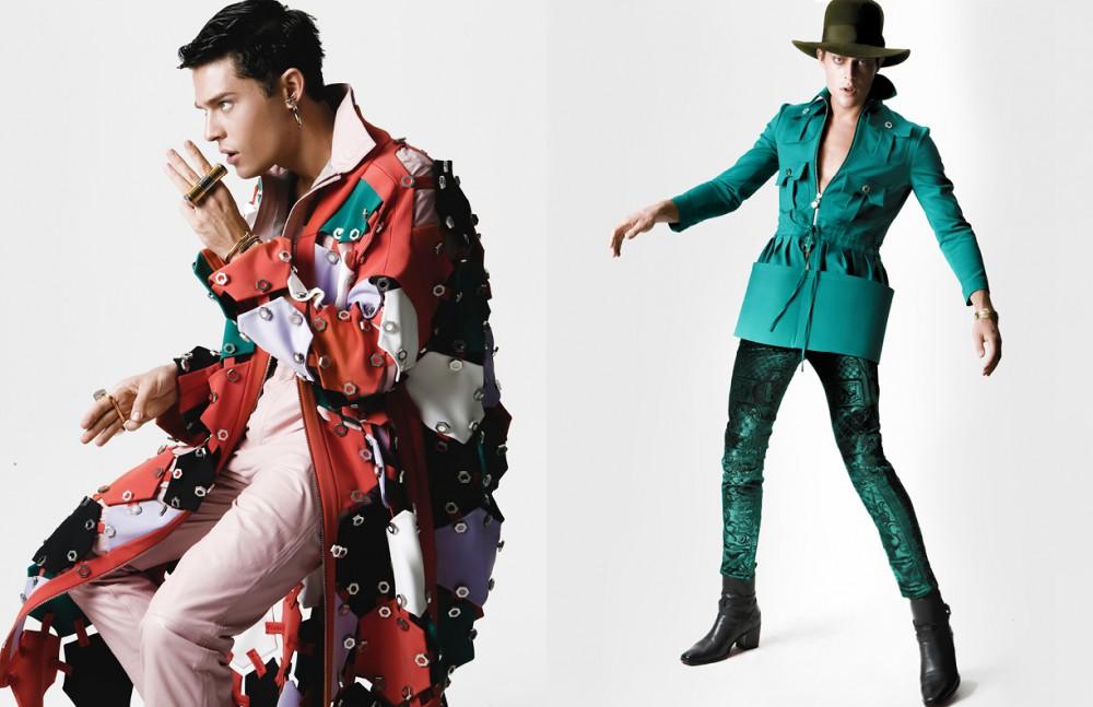 Jacket / Hakan Yıldırım Jumpsuit / Emre Erdemoglu Earrings / Givenchy Rings / AQ Bracelet / Cartier Opposite Jacket / Hakan Yıldırım Trousers / Balmain Shoes / Christian Louboutin Hat / Dsquared2 Bracelet / Cartier