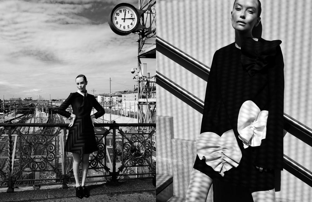 Dress / Grinko Shoes / Baldinini Opposite Dress / MSGM