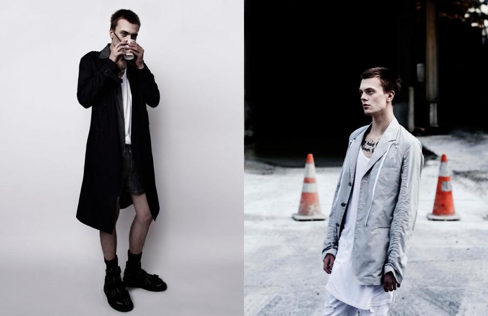 Jacket / Burberry Jacket (underneath) & Shorts / Prada Tank Top / Givenchy Opposite Jacket / Kenzo Tank Top / Givenchy Pants / Philipp Plein