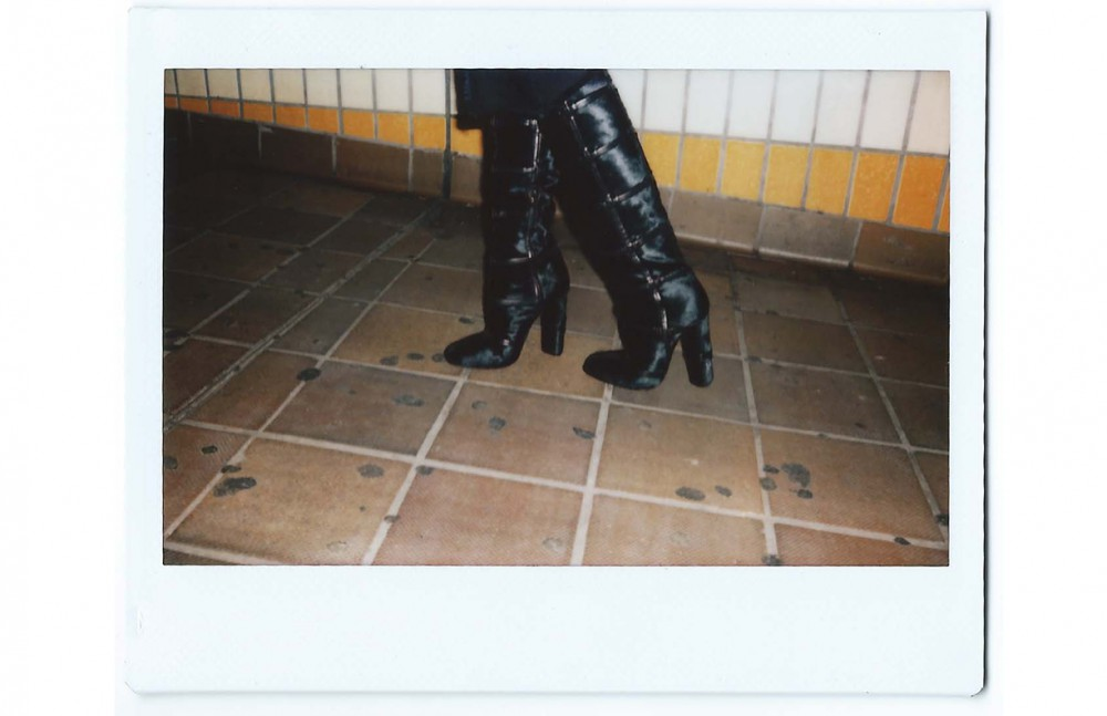 Skirt & Boots / Tom Ford