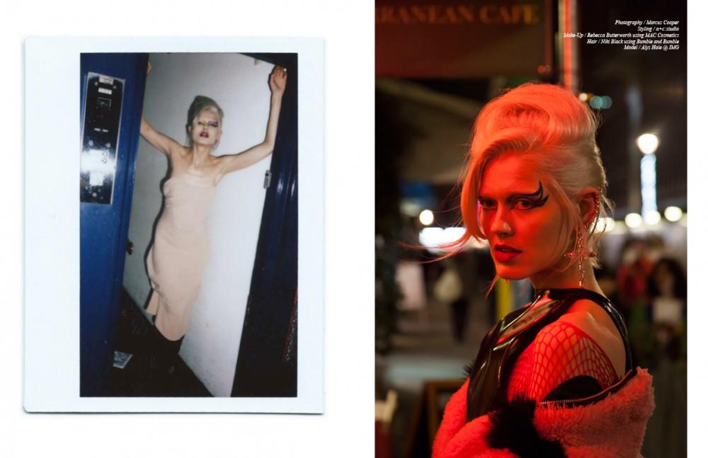Dress / Vivienne Westwood Boots / Archive Opposite Dress & Coat / Ashley Williams Earrings / Butler & Wilson