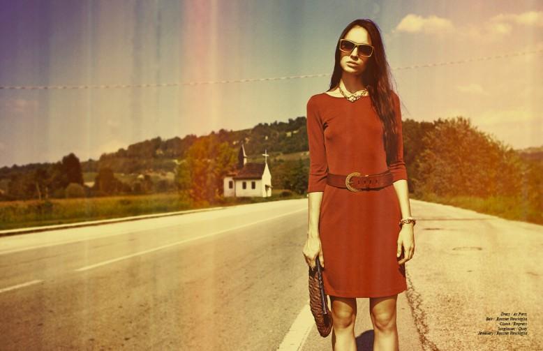 Dress / Ax Paris Belt / Rooster Vanchiglia Clutch / Empress Sunglasses / Quay Jewellery / Rooster Vanchiglia