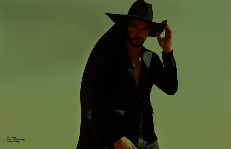 Hat / Vintage Blazer / Dirk Bikkembergs  Trousers / Iceberg