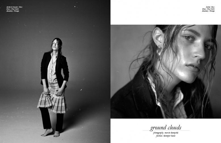 Jacket & trousers / Boss Dress / Paul Smith Jewellery / Vintage Opposite Jacket / Boss Dress / Paul Smith Jewellery / Vintage