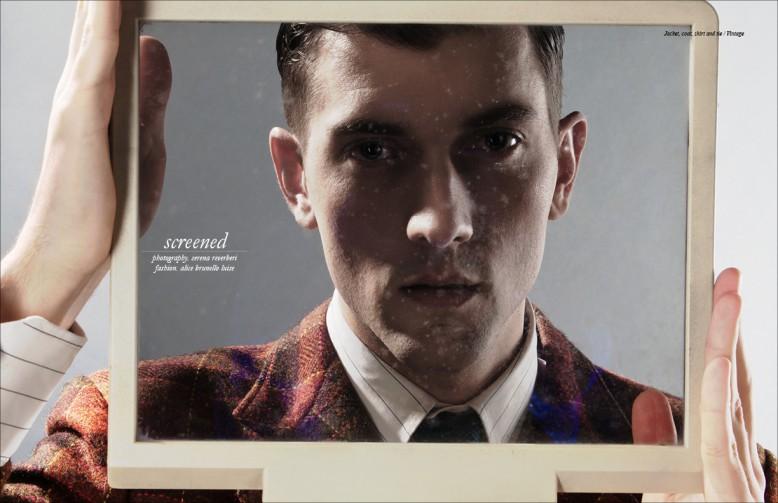 Jacket, coat, shirt and tie / Vintage