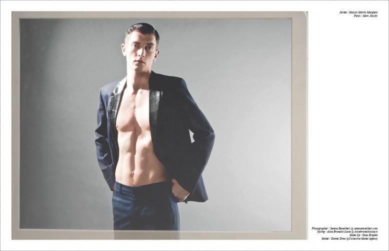 Jacket / Maison Martin Margiela Trousers / Marc Jacobs