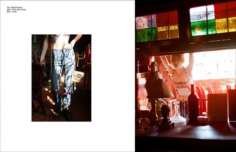 Top / Gypset Nouveau Jeans / AJ by Alexa Chung Boots / Chloe