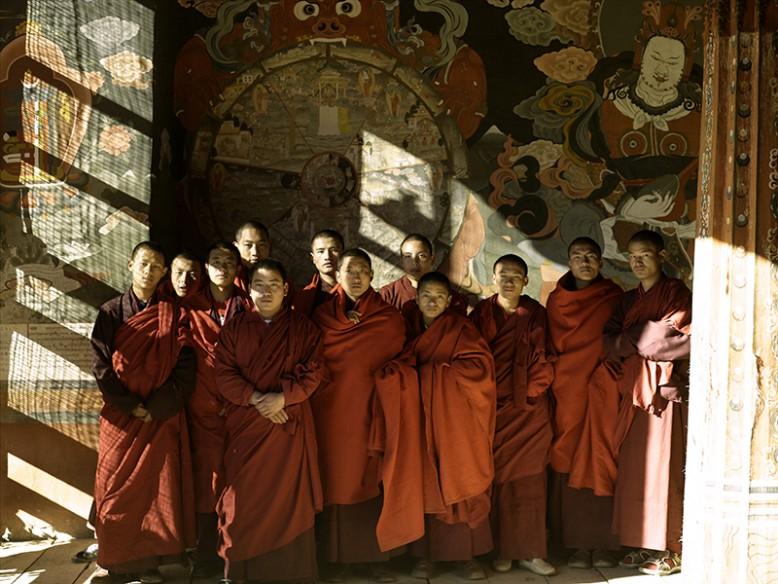 Amankora - Thimphu Dest-Monks