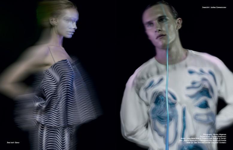 Total look / Kenzo Opposite Sweatshirt / Andrea Cammarosano