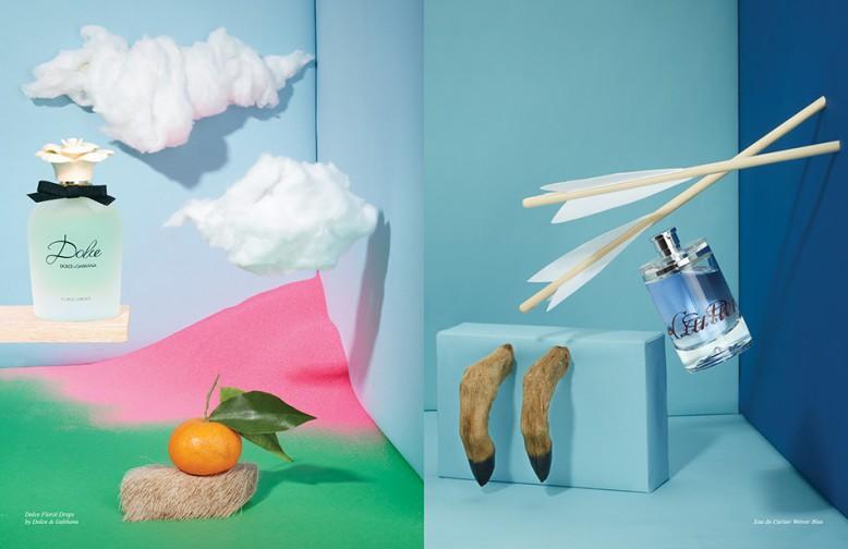 Dolce Floral Drops by Dolce & Gabbana Opposite Eau de Cartier Vetiver Bleu