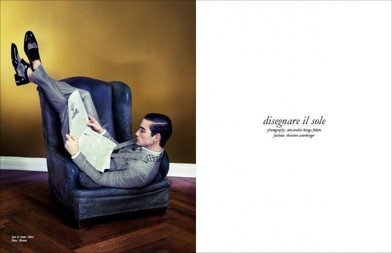 Suit & shoes / Etro Shirt / Brioni