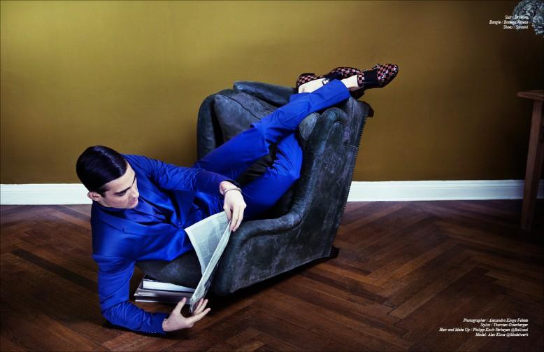 Suit / Drykorn Bangle / Bottega Veneta Shoes / Santoni