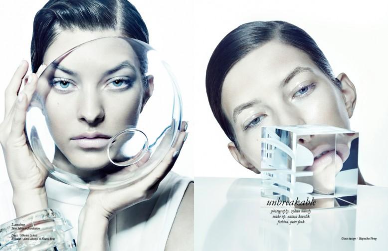 Lancôme Teint Miracle foundation Dress / Nikolett Schutz Bracelet / Alma Abonyi & Noemi Braz Opposite Glass design / Hajnalka Virag