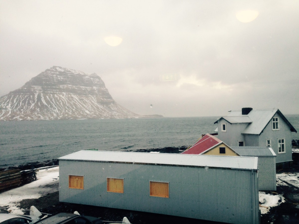 Kirkjufell Mountain from Grundarfjörður