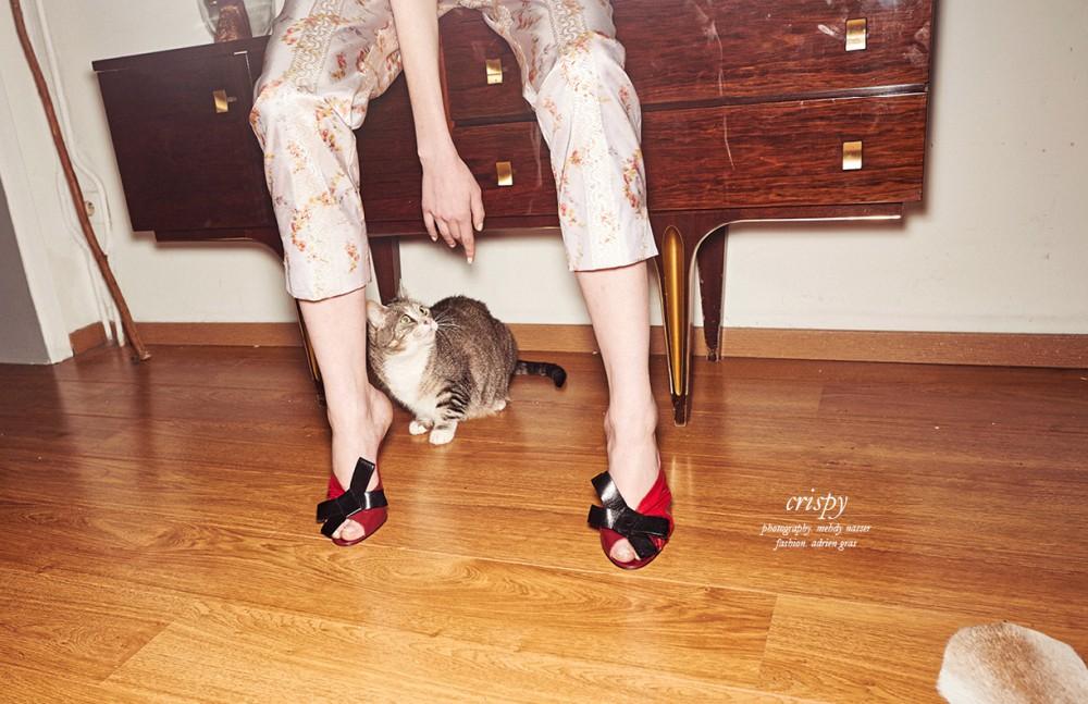 Trousers & shoes / Miu Miu