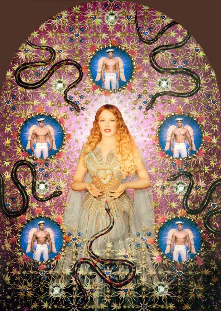 La Vierge aux serpents (Kylie Minogue) 2008, © Pierre et Gilles