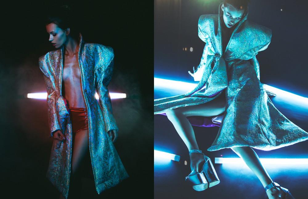 Coat / Merlin Castell Shoes / Jeffrey Campbell