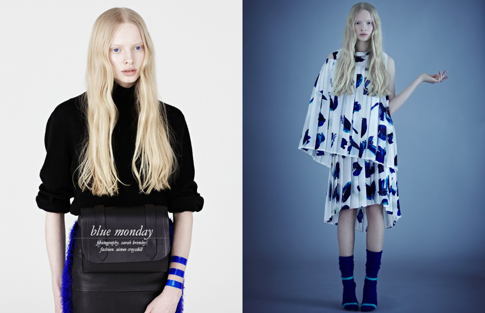 Jumper / Uniqlo Skirt & bag / Jamie Wei Huang Opposite Dress / J. JS Lee Socks / Falke Shoes / Manolo Blahnik