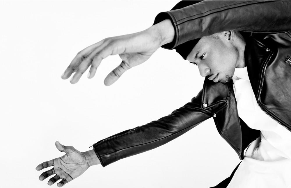 Hat / Robert Geller Jacket / Diesel Black & Gold Top / Rochambeau