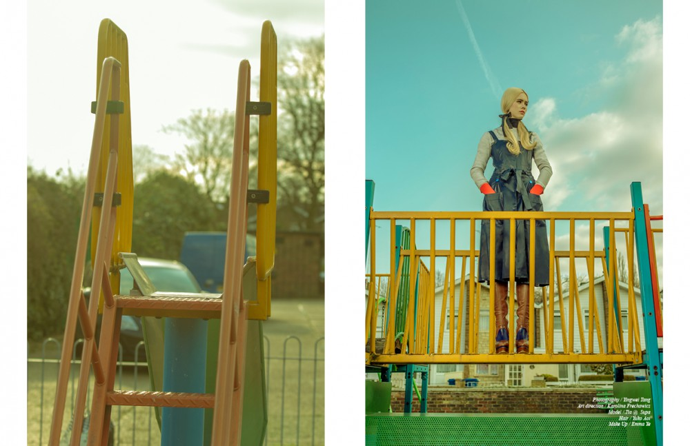 Rollneck / Maxstudio Dress / Jonathan Saunders Blouse / Roksanda Ilincic Boots / Dior