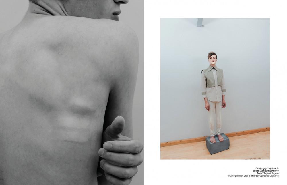 Top / Soon Yong Kim Trousers / Marika Jasmine Grasso