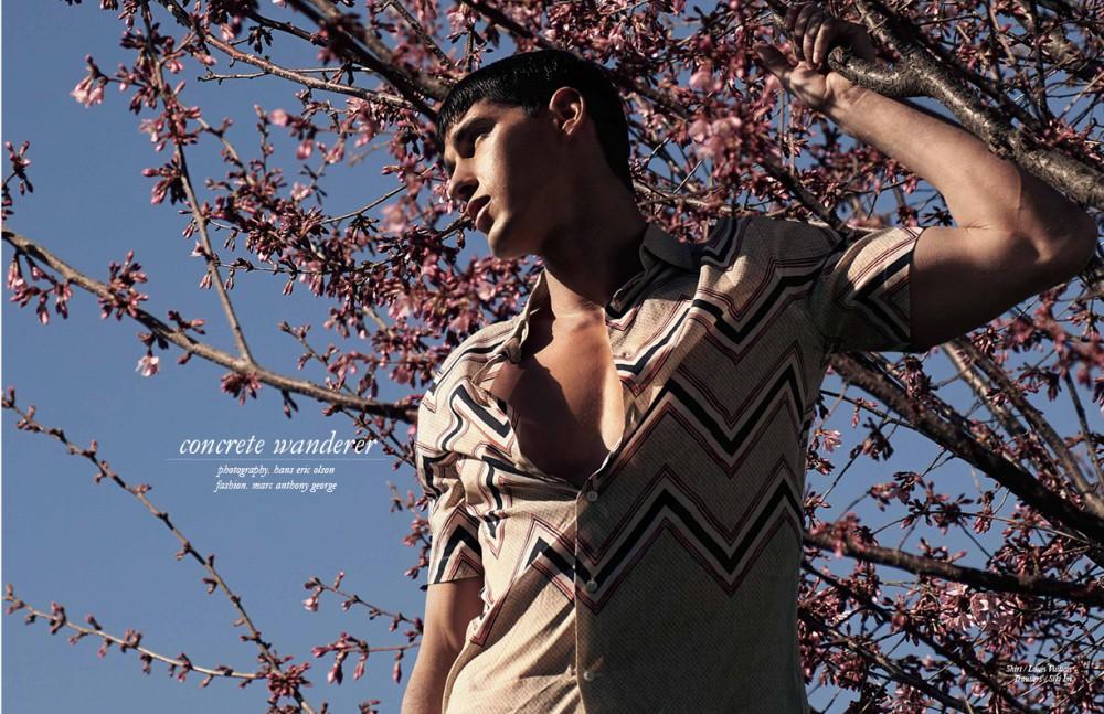 Shirt / Louis Vuitton Trousers / Siki Im