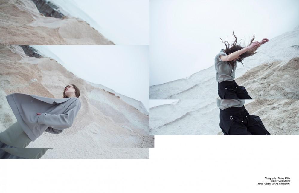 Jacket / Suzanne Rae Dress / OAK Trousers / Dominic Louis Opposite Top / SCHAI Trousers / MM6 Maison Margiela