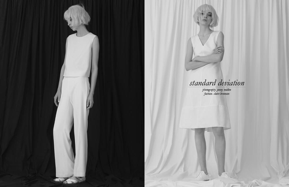 Top / Céline Trousers / Chloé Shoes / Margaret Howell Opposite Dress / Marni Shoes / COS