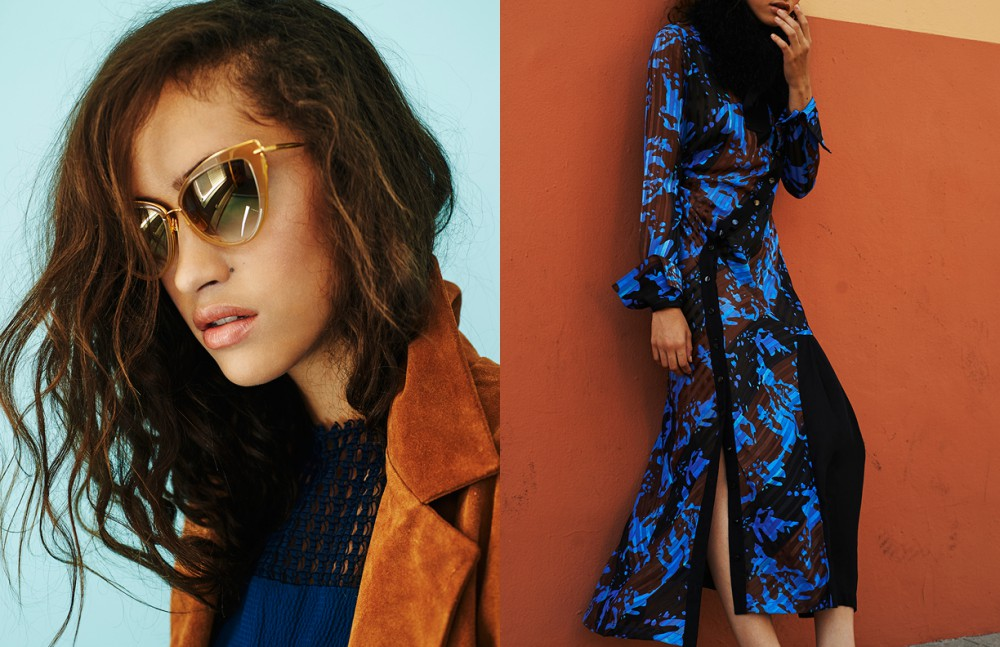 Coat / Simon Miller Dress / Richard Chai Glasses / Retrosuperfuture Opposite Dress / Richard Chai  Snippet / Stylist's own