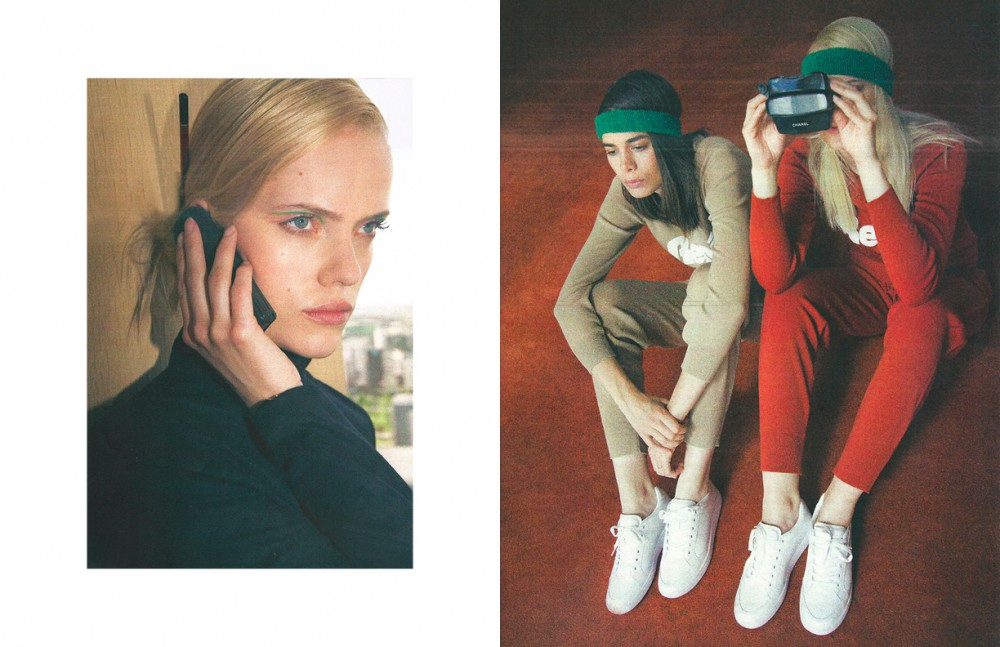 Top / American Apparel Opposite Sweaters, joggings & sneakers / Lacoste  Headbands / American Apparel