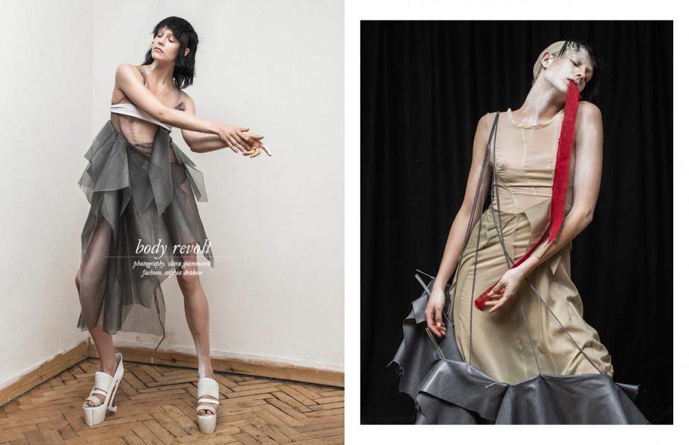 Dress / Alexander Steele Shoes / Alejandra Simonetta Opposite  Dress / Alexander Steele