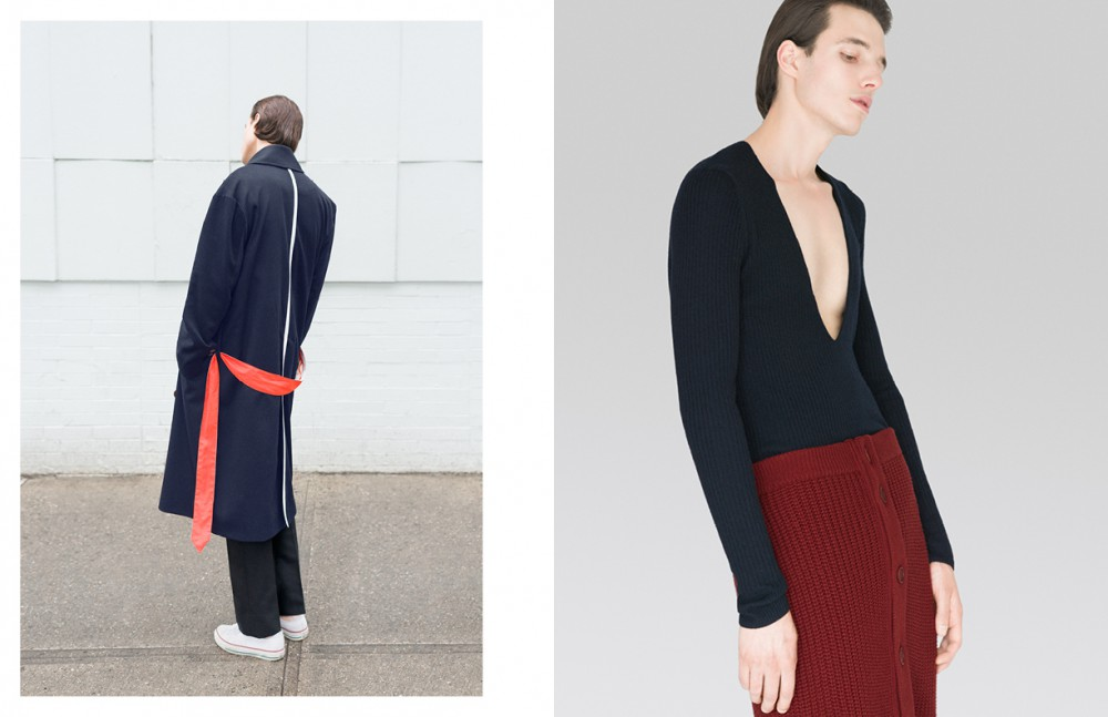 Coat / Devon Half Nicht Leflufy Trousers / Dsquared2 Shoes / Converse Opposite Jumper / Dries Van Noten Skirt / Givenchy