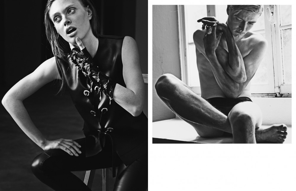 Vest / Costume Na Tional Trousers / Gareth Pugh Glove / Kd2024 Opposite Underwear / Dsquared2