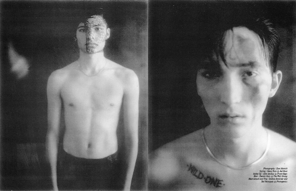 Pants / Philip Lim  Chain / Vintage