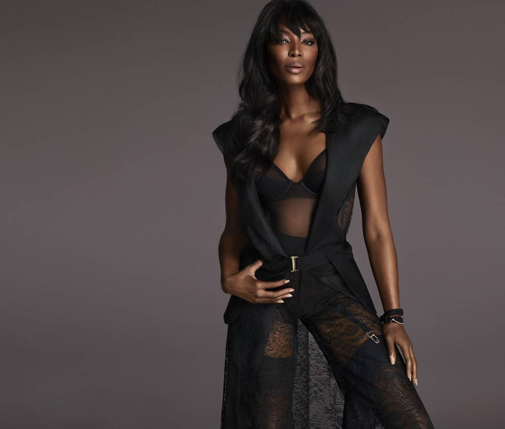 Naomi Campbell La Perla AW15 Campaign (2)