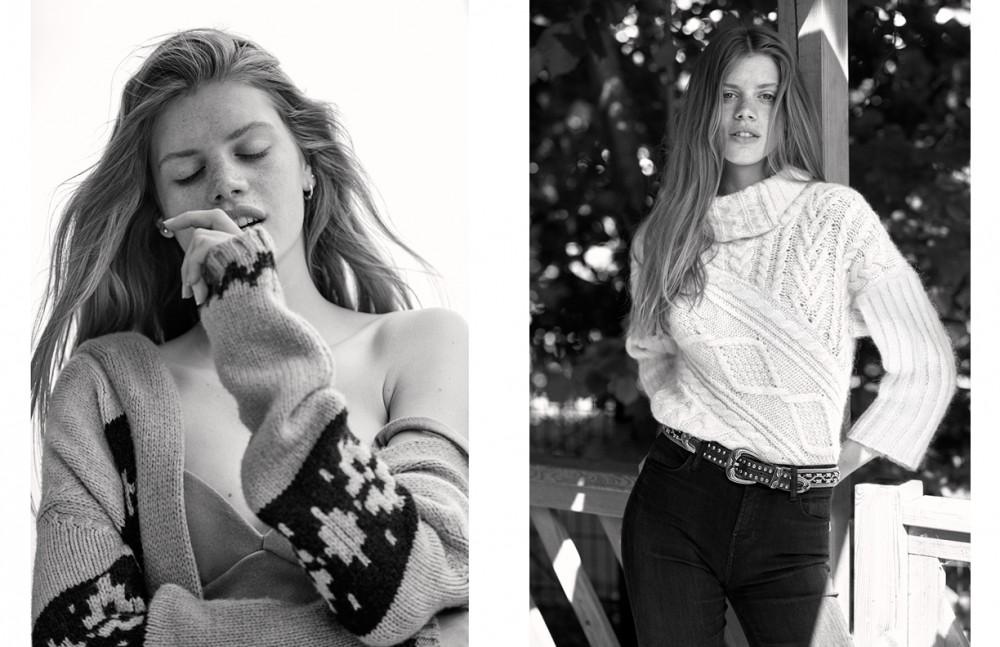 Cardigan / Max Mara Opposite Pullover / Ralph Lauren  Belt / Vintage  Jeans / J Brand